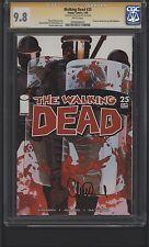 Walking Dead #25 CGC 9.8 SS Charlie Adlard