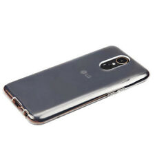 For LG Stylo 4 Transparent Smoke Thin Rubber Silicone Gel TPU Soft Case Cover