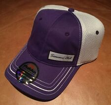 Pukka Headwear The Seawane Club Performance Mesh Fitted L/XL Golf Hat PurpleMesh