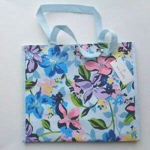 Vera Bradley Square Market Tote Marian Floral Gift Bag Reusable NWT