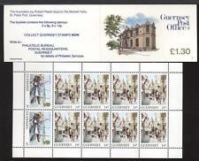 GUERNSEY - Libretto - 1985 - £. 1,30 - Vedute dell'Isola - Uffici postali