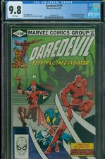 Daredevil 174 Miller Elektra Key CGC 9.8 Near Mint/Mint White Pages Free Ship!