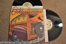 GOLDEN SUMMER Surf Rock Doo Wop Bikini Sexy 2 RECORDs LPs VG+