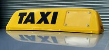 Northern Ireland Taxi Signs Yellow passed DOE approved LED  lights  LETTERCRAFT