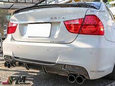 P Style Carbon Fiber Rear Diffuser for BMW E90 325i 328i 335i Sedan 2006-2011
