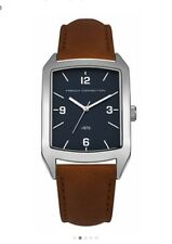 FRENCH CONNECTION Men's SFC113UBR Quartz Watch with Blue Dial Analogue Display