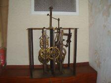 ANCIEN MOUVEMENT PENDULE HORLOGE COMTOISE OROLOGIO OLD CLOCK  UHR A6