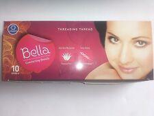 10xSpool Bella Eyebrow  Face Facial Cotton Threading Threads Facial hair Remover