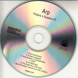 ARP Pulsars & Quasars EP 2014 UK 7-trk promo test CD