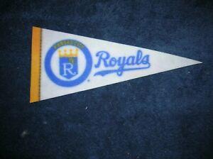 Kansas City Royals 1970's mini pennant