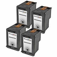 4 CH561WN 61 Black Printer REMAN Ink Cartridge for HP HP61 Deskjet 1000 1050