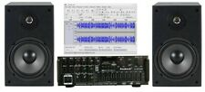 Audio Mix Studio Amplifier Speakers Pro 6.5in Software w Usb Digital Recording
