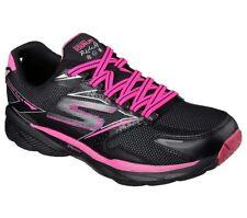 Skechers Gorun Ride 4 clima 13854 Entrenadores Negro/rosa caliente zapatos tenis UK2.5