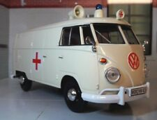 G LGB 1:24 Scale VW T1 Type 2 Ambulance Diecast Model Van 1962 Motormax