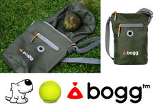 bogg - Dog walking bag Poop bag dispenser & waste carrier roll Khaki green Ball