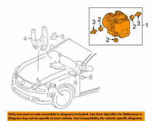 44050-53120 Toyota Actuator assy, brake 4405053120, New Genuine OEM Part