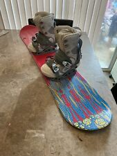 New listing vintage air walk snowboard womens girls bindings and boots (size 5) Complete