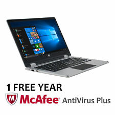 """11.6"""" Convertible Touchscreen Laptop Windows 10 Home Office 365 Personal 1-Year"""