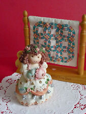"Patterns of Life by Enesco Angel of Marriage ""Wedding Ring Blessing"""