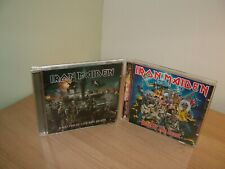 JOBLOT IRON MAIDEN - THE BEST OF THE BEAST &  A MATTER OF LIFE & DEATH