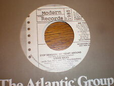 Stevie Nicks 45 Stop Draggin My Heart Around PROMO MODERN
