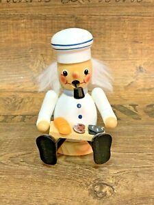 Räuchermännchen Bäcker Räuchermann 11,5 cm Deko Weihnachten Tradition NEU