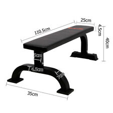 Upper Body Workout Fitness Flat Bench Gym Home Strength Training Exercise 300KG