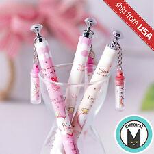 US 3pcs Kawaii Fun 0.5mm Mechanical pencils Miffy Korean cute dangle charm Chain
