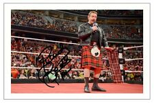 ROWDY RODDY PIPER WWE WRESTLING SIGNED PHOTO PRINT AUTOGRAPH