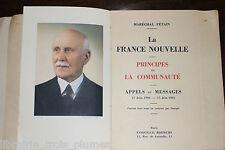 ✒ Rare Maréchal Philippe Pétain La France Nouvelle 1941 1/50 JAPON ++++