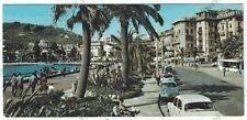 GENOVA RAPALLO 134 Cartolina VIAGGIATA 1968 - MIGNON BABY CARD !!!
