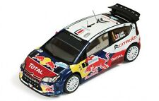 1/43 CITROEN C4 WRC total Red Bull Winner Rallye de France Alsace 2010 S. Loeb