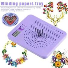 Quilter's Grid Guide for Paper Folding Crafting DIY Handmade Quilling Tool