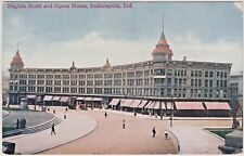English Hotel and Opera House in Indianapolis, Indiana at 120 Monument Circle
