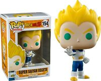 Animation Dragon Ball Z Super Saiyan Vegeta Blue & White Funko Pop Vinyl