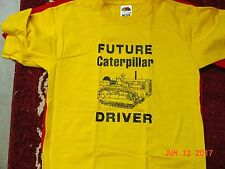 "CATERPILLAR CHILD T-SHIRT ""FUTURE DRIVER"", NEW, SIZE 14-16"
