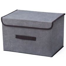 Cotton Linen Household Storage Box Toy Sundries Snack Storage Box Household