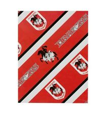 NRL St George Illawarra Dragons Birthday Wrap Gift Wrap Paper