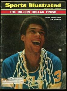 SI: Sports Illustrated March 31, 1969 UCLA's Happy Giant Lew Alcindor G