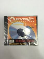 microboards Cd Recordable 16x Lot Of 10 Made In Japan