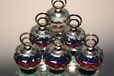 Mint Swarovski Crystal Set of 6 Place Card Holders InnGreen Color 7403 020 001