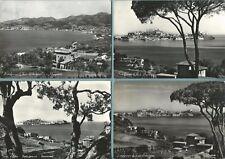 PORTOFERRAIO (Isola d'Elba) -Lotto di 4 Cartoline Originali d'Epoca FG Viaggiate