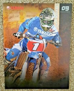 Vintage Yamaha Off Road Catalog 2009 Motocross Supercross Racing