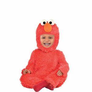Sesame Street Elmo Costume for Babies, Includes Soft Jumpsuit