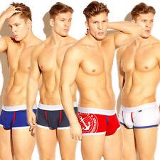 Men's Bulge Pouch Boxer Briefs Cotton Ocean Underwear Underpants M-XXL