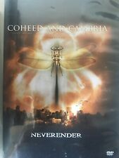 COHEED AND CAMBRIA - Neverender 2 x DVD Set AS NEW!