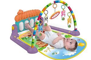 Tappettino da gioco per neonati palestrina baby attivita musicale giochi pedenti