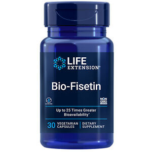 Bio-Fisetin, 30 caps Life Extension Optimized cellular, cognitive and longevity
