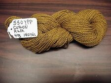 Cotton Boucle Yarn 550 YPP Rum color  4 ounce  skein 140 Yards