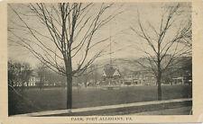 Port Allegany PA * Park  ca. 1908 * McKean Co.
